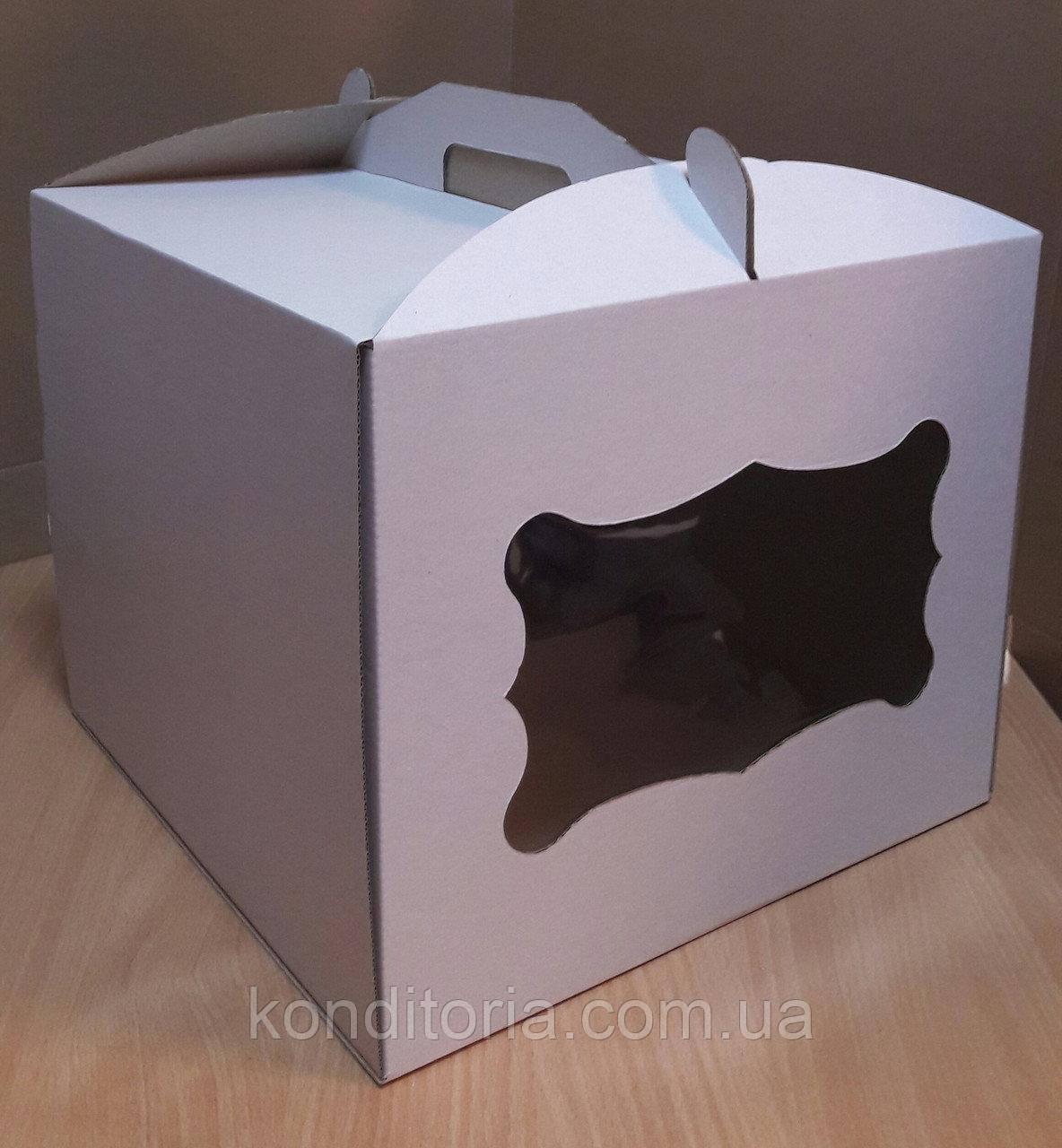 Коробка для торта 30*30*25