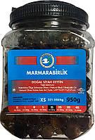 Турецкие оливки черные вяленые (маслины) 950 г Marmarabirlik XS