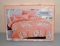 Комплект постельного белья двуспальный мягкий Classic сатин (F-671)
