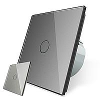 Сенсорный проходной выключатель без проводов Livolo белый (VL-C701R-C701RMT-15)
