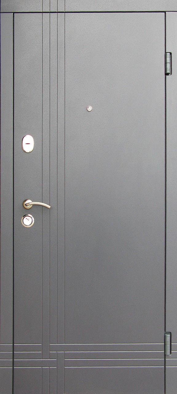 Уличные входные двери Редфорт Сити (Антрацит) наружные