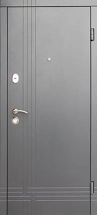 Уличные входные двери Редфорт Сити (Антрацит) наружные, фото 2