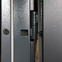 Уличные входные двери Редфорт Сити (Антрацит) наружные, фото 3