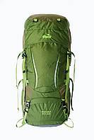 Туристичний рюкзак Sigurd 60 + 10 зелений, фото 1