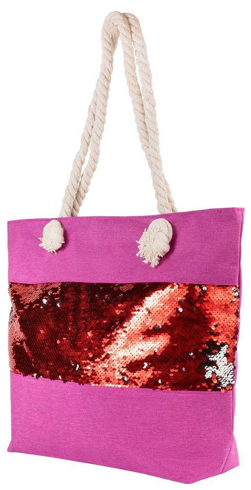 Пляжная текстильная сумка ETERNO ETA29348-3 малиновый