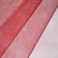 Фатин жесткий красный ш.180 ( 14811.054 )