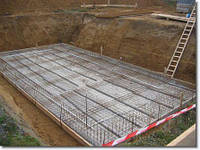 Фундамент монолитная плита (монолитный фундамент) +, фото 1