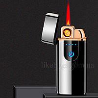 Зажигалка юсб и газовая два режима пламени PARBURY, фото 1