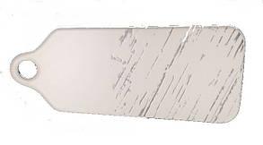 Доска фарфоровая для подачи «Светлый камень» 300*125 мм Helios G1630, фото 2