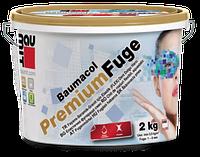 Затирка для швов эластичная Baumit Premium Fuge CG2 (dark brown/темно-коричневый) 2 кг