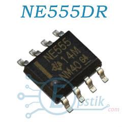 NE555DR, таймер высокоточный, SOP8