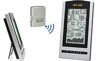 Метеостанція MISOL WH 1150 (вимірювання вологості, температури, тиску, точки роси та прогноз погоди)