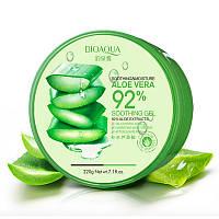 Многофункциональный гель для лица и тела BIOAQUA Soothing & Moisture Aloe Vera 92% Soothing Gel 220 г, фото 1