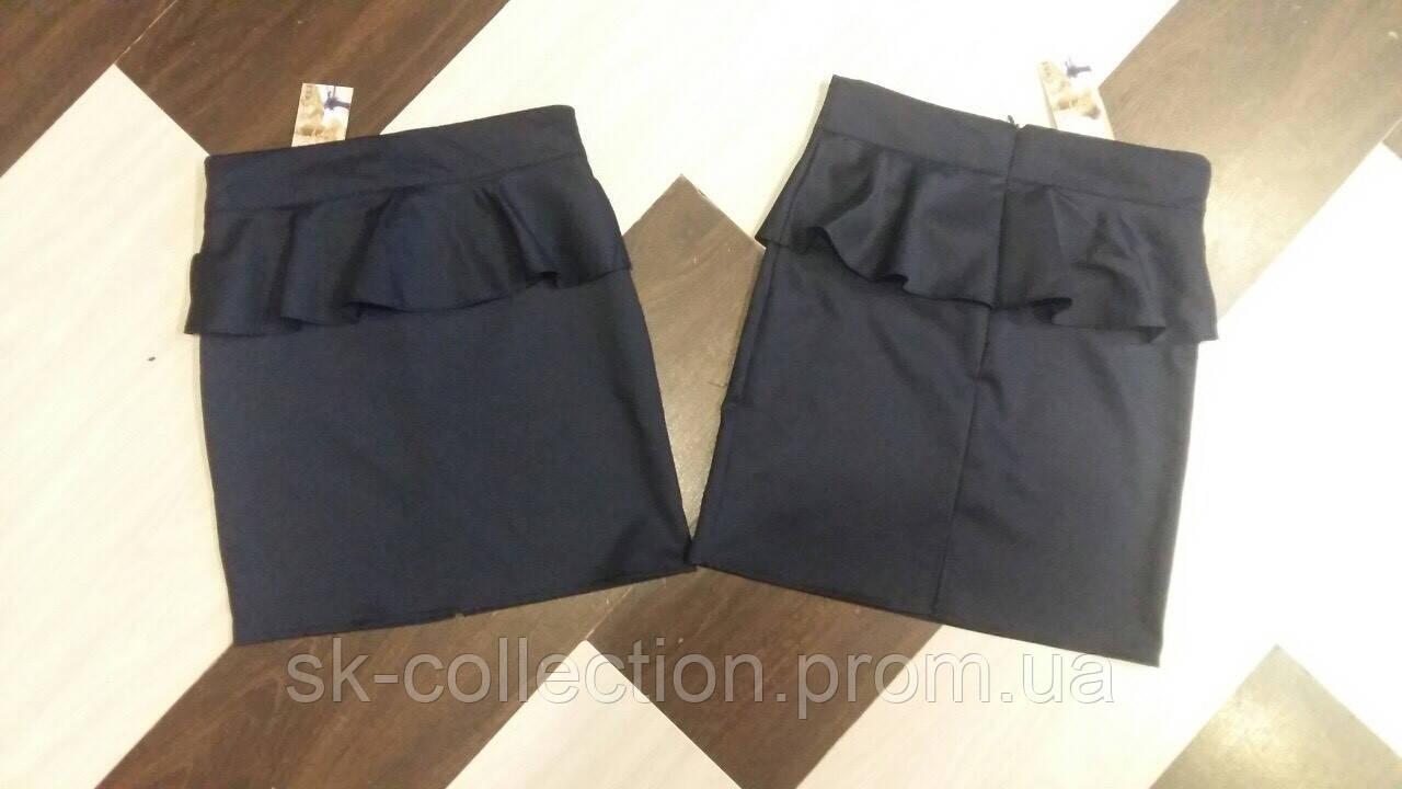 Школьная юбка баска, размеры:128, 134, 140, 146, 152 см.