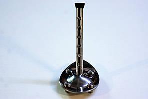 Каблук женский пластиковый МКС Серебро р.0-3  h-8,0-9,5 см., фото 2