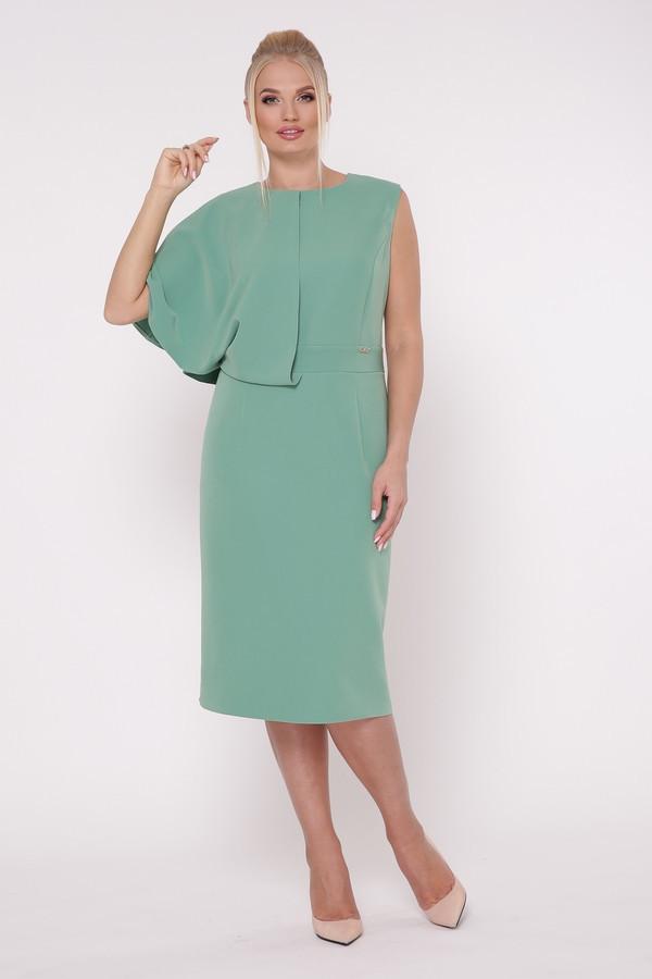 Красивое женское платье Надин яблоко (50-56)