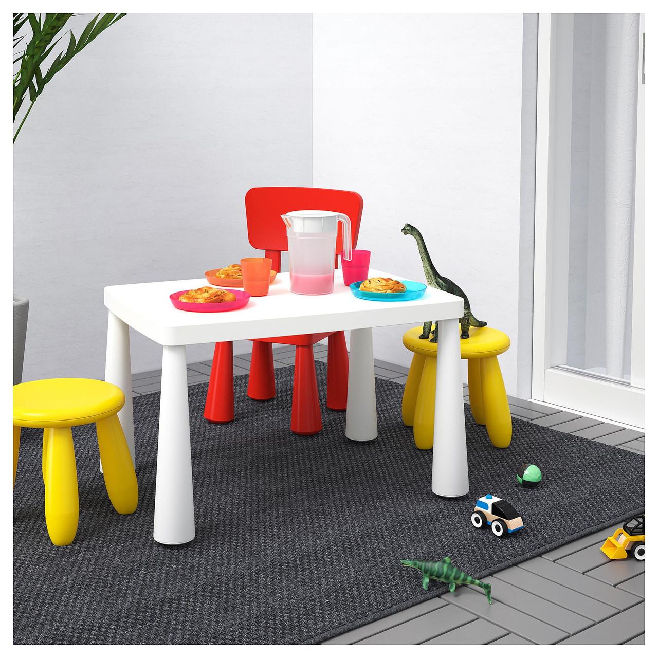 IKEA MAMMUT дитячий столик