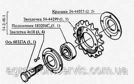 Звездочка натяжная в сборе 54-1-4-16 CK-5 «НИВА» Z-16; t-19.05
