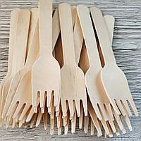 Вилки деревянные ЭКО 16см  100шт/уп