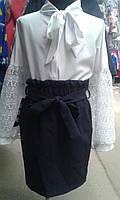 Школьная юбка карандаш,размеры:128, 134, 140, 146, 152 см.