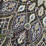 Золотая клетка 1826-9, павлопосадский платок шерстяной с шелковой бахромой, фото 8