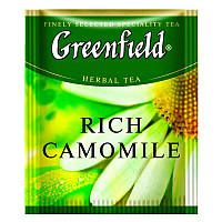 Травяной Чай Greenfield Rich Camomile (100 шт) Ромашка