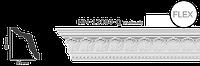 Карниз потолочный с орнаментом Classic Home New  HM-12080Q лепной декор из полиуретана,