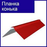 Планка конька полукруглая.0.5 мм. РЕ 25 мк -Термастил., фото 10