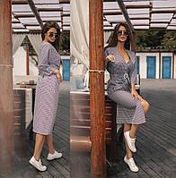 Женское коттоновое платье Размеры:42-46.+Цвета, фото 1