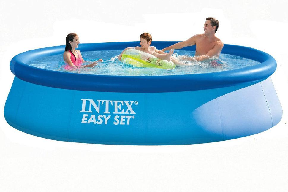 Басейн Intex Easy Set (28143) 3.96m×84cm