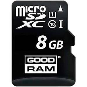 Карта памяти Goodram microSDHC class 10 UHS-1 SD adapter OTG Card reader 8Gb #I/S