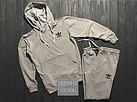 Мужской спортивный костюм Adidas, Адидас, серый (в стиле)