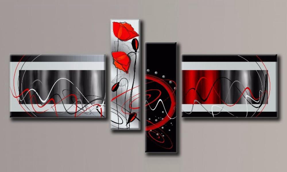 Модульная картина Абстракция стиль-3 105х206 см (HAF-118)