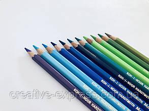 Олівці кол. аквар. MONDELUZ cobalt blue