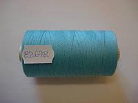 Нитка ALTERFIL №80 1000м.col 22672 ярко-голубой (шт.)