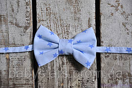 Бабочки галстуки, синие звезды