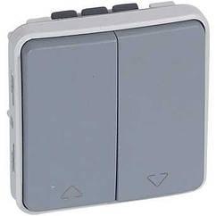 Перемикач двоклавішний для прямого управління приводами