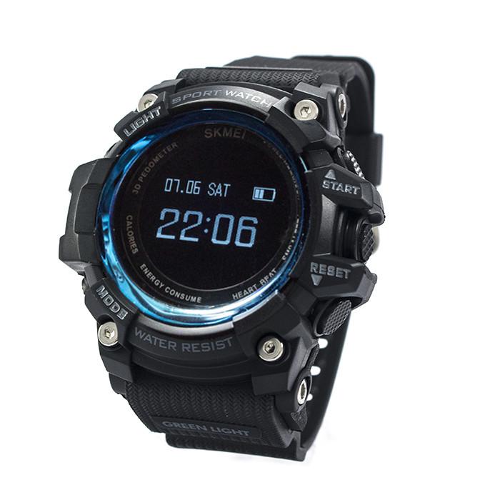Смарт-часы спортивные Skmei 1188 Black Blue