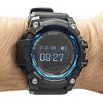 Смарт-часы спортивные Skmei 1188 Black Blue, фото 2