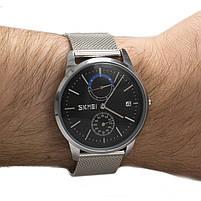 Часы Skmei 9182 Silver Black, фото 2