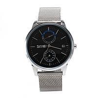 Часы Skmei 9182 Silver Black, фото 3
