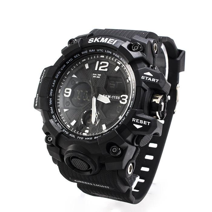 Часы спортивные Skmei 1155B Black-White