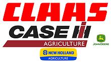 Запчастини до зернозбиральних жниварок Case, New Holland, Claas, John Deere