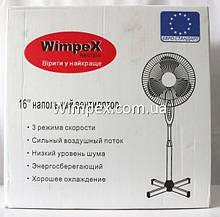 """Підлоговий вентилятор Wimpex WX-1612 - 16"""", фото 2"""