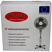 """Підлоговий вентилятор Wimpex WX-1612 - 16"""", фото 3"""