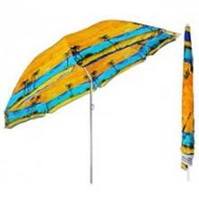 Пляжный зонт с наклоном диаметр 180 см Пальма UMBRELLA (Best 9), фото 2