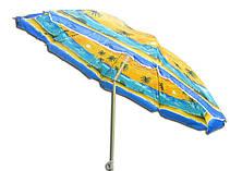 Пляжний зонт UMBRELLA 200 см, фото 3