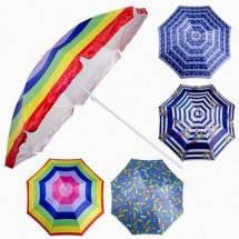 Пляжний зонт UMBRELLA 220 см, фото 3