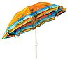 Пляжный зонт UMBRELLA 220 см, фото 2
