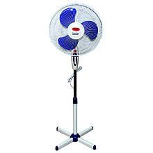 Підлоговий вентилятор WIMPEX WX-1611 вентилятор побутовий, підлоговий вентилятор
